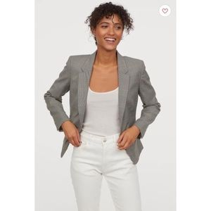H&M Fitted Women's Blazer Size 2 NWT